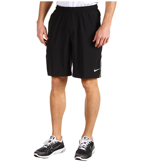 Pantaloni Nike - Ten-Inch Stretch Woven Short - Black/White/White