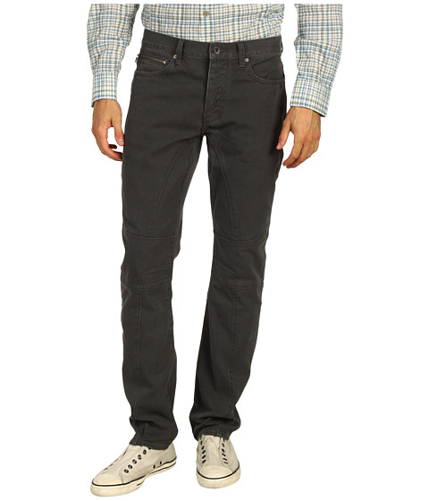 Blugi John Varvatos - Low Slim Seamed Straight Leg Jean - Shark