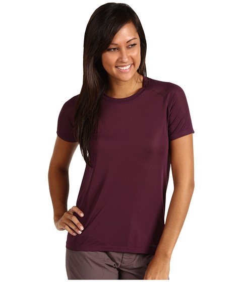 Tricouri Patagonia - Short Sleeve Gamut Shirt - Deep Plum