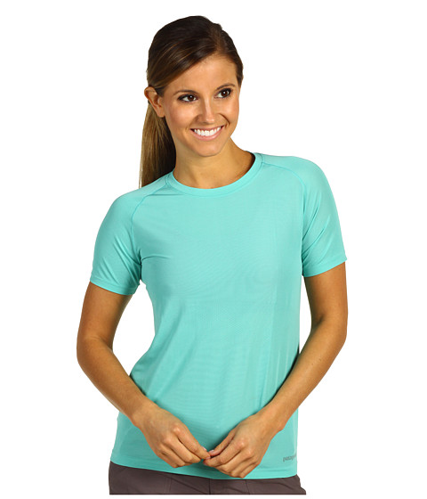 Tricouri Patagonia - Short Sleeve Gamut Shirt - Nile Blue