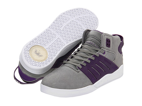 Adidasi Supra - Skytop III - Grey Waxed Suede/Purple