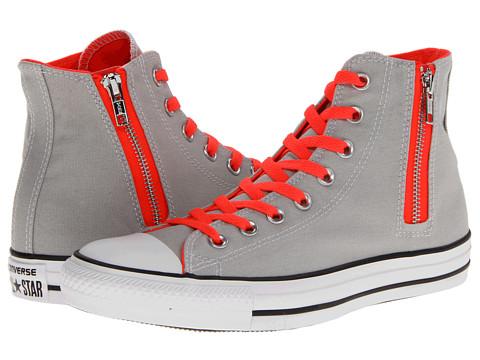 Adidasi Converse - Chuck Taylorî All Starî Side Zip Hi - Gray Violet