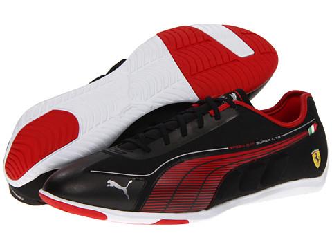 Adidasi PUMA - Speed Cat Super LT Low Ferrariî - Black/Rosso Corsa