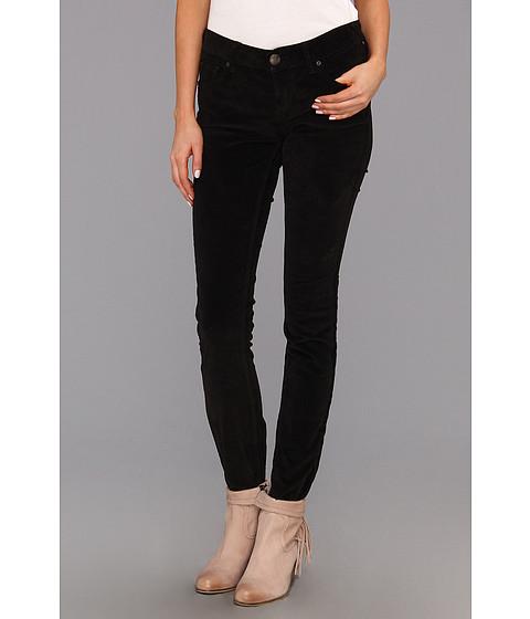 Pantaloni Free People - Skinny Cord - Black