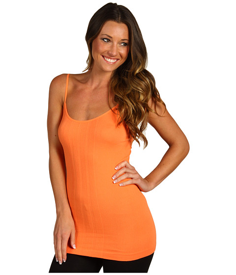 Tricouri Free People - Seamless Cage Back Cami - Sunrise Orange