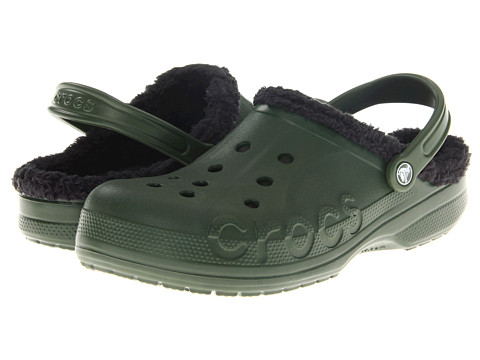 Sandale Crocs - Baya Lined - Forest/Black