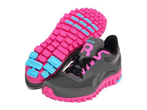 Adidasi Reebok - Aztec Flex Racer - Rivet Grey/Dynamic Pink/Black/Buzz Blue