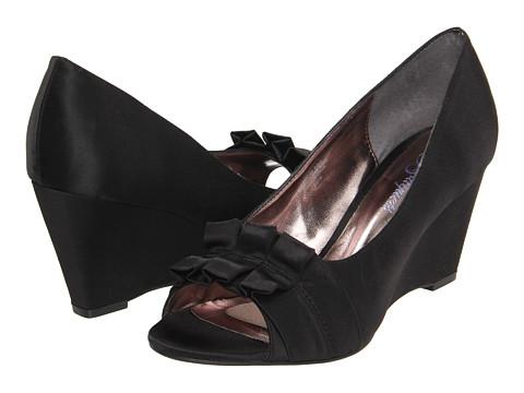 Pantofi Bouquets - Adabella - Black Satin