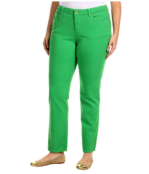 Blugi Michael Kors - Plus Size Colored Skinny Jean - Fresh Green
