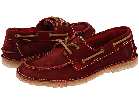Pantofi Frye - Bleeker Boat Shoe - Red