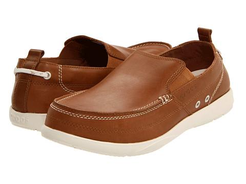 Pantofi Crocs - Harborline Loafer - Hazelnut/Stucco
