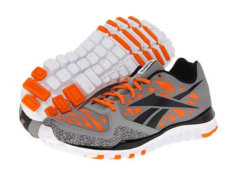 Adidasi Reebok - RealFlex Transition - Grey/Black/Orange/White/Tin Grey/Black/Mandarin Orange/White