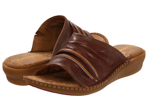 Sandale Hush Puppies - Laze Slide - Brown Leather