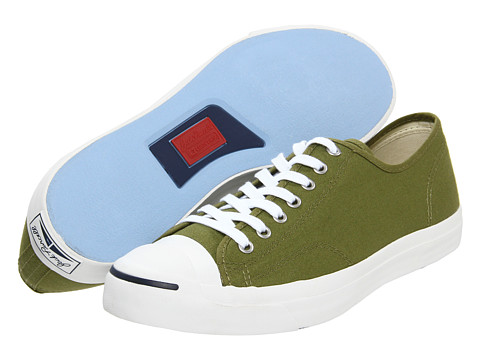 Adidasi Converse - Jack Purcellî Seasonal Ox - Army Green