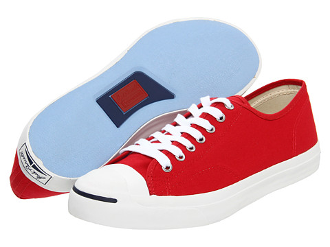 Adidasi Converse - Jack Purcell® Seasonal Ox - Red Core Duck Canvas