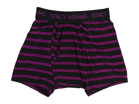 Lenjerie Stacy Adams - Boxer Brief Stripe - Purple