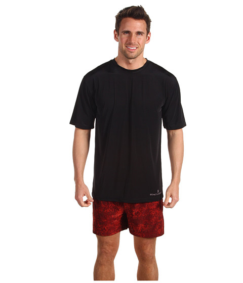 Lenjerie Stacy Adams - Camo Boxer w/ Solid Black Crew - Red