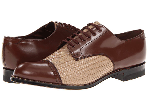 Pantofi Stacy Adams - Madison - Cognac/Taupe