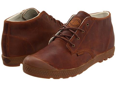 Adidasi Palladium - Slim Chukka Leather - Bridle Brown/Mid Gum