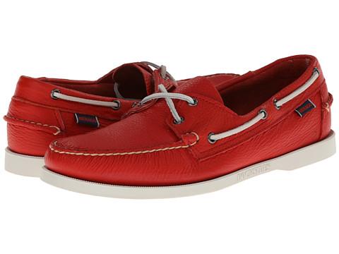 Pantofi Sebago - Docksides - Bright Red