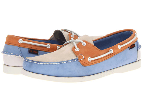 Pantofi Sebago - Spinnaker - Blue/Ivory/Orange