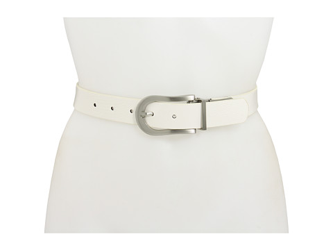 Curele Big Buddha - Revers Liz Smooth Belt - White