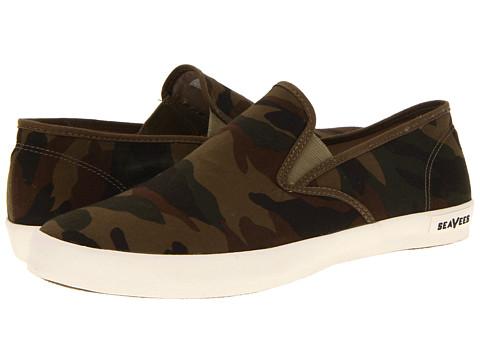 Pantofi SeaVees - 02/64 Baja Slip On - Olive Camouflage Ripstop
