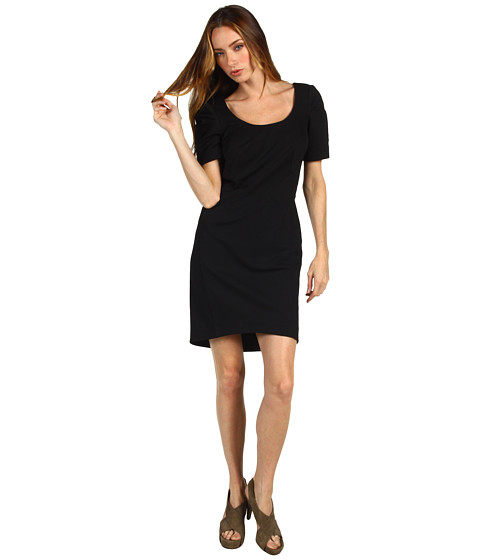 Rochii Z Spoke ZAC POSEN - Bondage Jersey Dress - Black