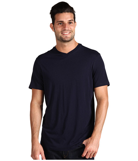 Bluze Culture Phit - Richie V-Neck Tee - Navy