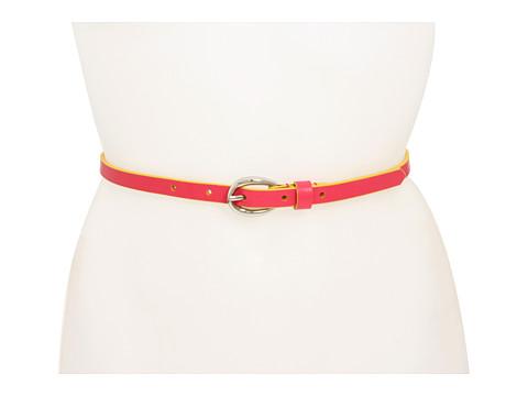 Curele Lodis Accessories - Oval Wave Buckle Pant Belt - Guava