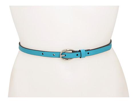 Curele Lodis Accessories - Oval Wave Buckle Pant Belt - Turquoise
