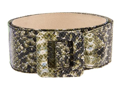 Curele Lodis Accessories - Pleat Front Sash Hip Belt - Olive