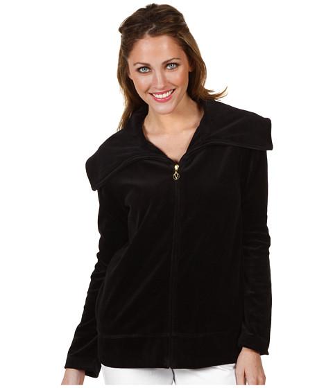 Jachete Culture Phit - Lisah Velour Jacket - Black