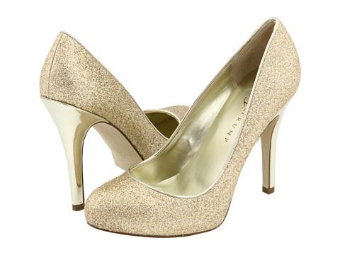 Pantofi Ivanka Trump - Pinki - Gold Glitter