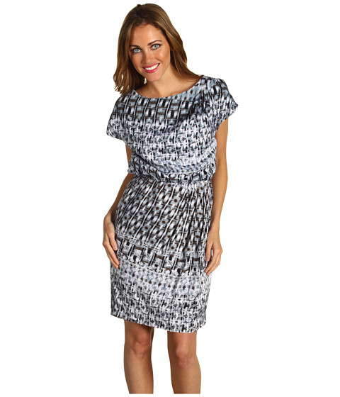 Rochii Vince Camuto - Abstract Cap Sleeve Dress VC2A1028 - Print
