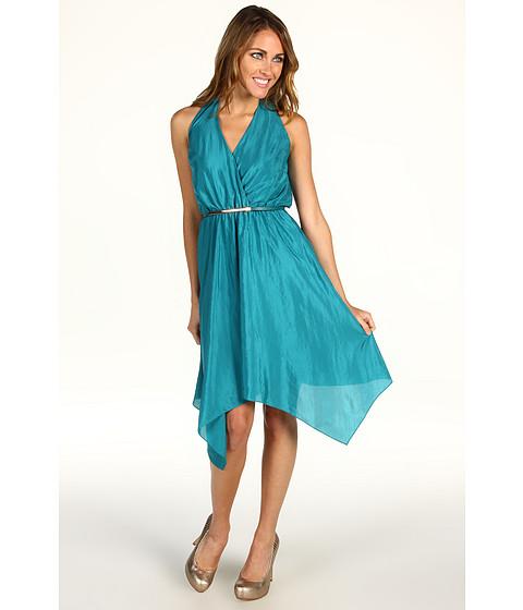Rochii Vince Camuto - Asymmetrical Halter Dress VC2A1389 - Blue