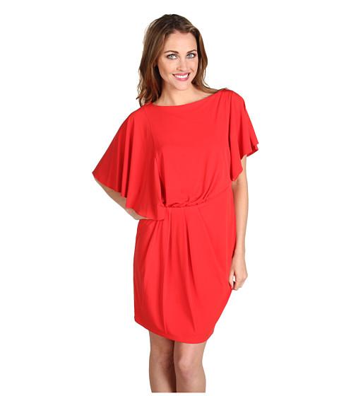 Rochii Vince Camuto - Flutter Sleeve Dress VC2U1081 - Red Pepper