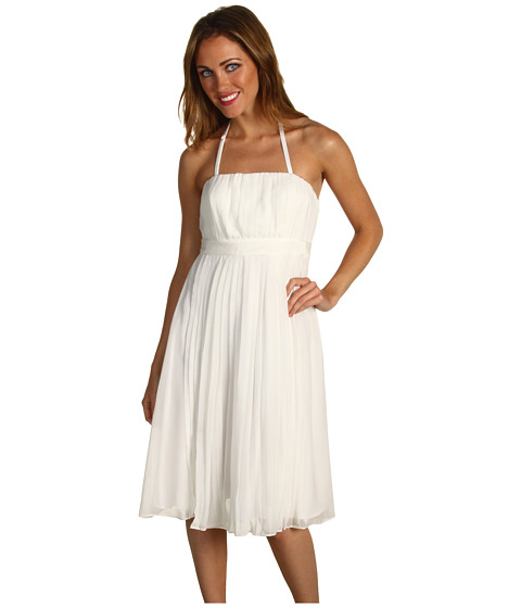 Rochii Vince Camuto - Pleated Dress w/ Removable Straps VC2U1086 - White