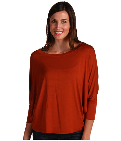 Bluze Culture Phit - Phiona Long Sleeve Top - Rust