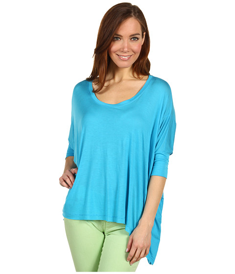 Bluze Culture Phit - Adora Modal Top - Turquoise