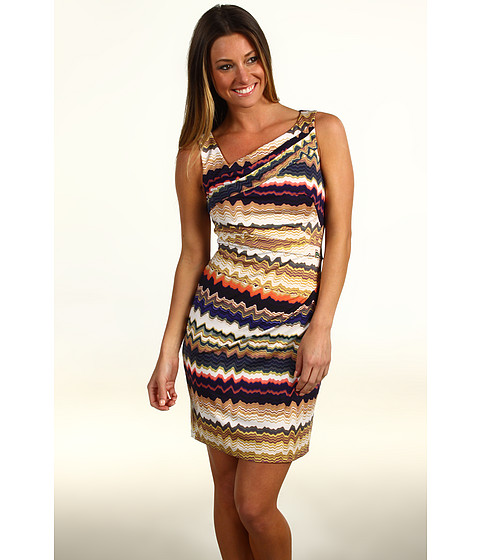 Rochii Vince Camuto - Zigzag Asymmetrical Ruched Jersey - Vista