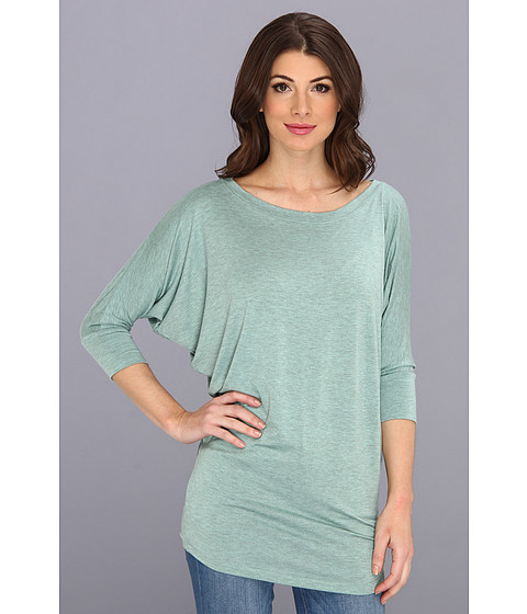 Bluze Culture Phit - Lara Modal Top - Heather Green