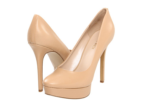 Pantofi Nine West - Fortonight - Natural Leather