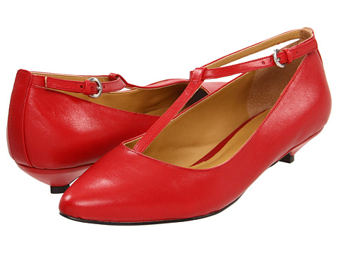 Pantofi Nine West - This Is It - Red Leather