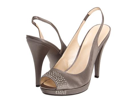 Pantofi Nine West - Grasshopper - Grey Satin