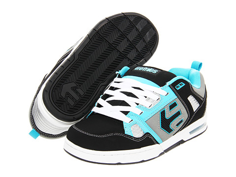 Adidasi etnies - Kontra - Black/Blue/White (Action Nubuck/Synthetic Leather)