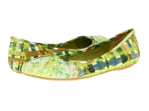Balerini Nine West - Blustery - Green Picnic Fabric