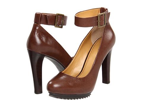 Pantofi Nine West - Cavewoman - Dark Brown Leather