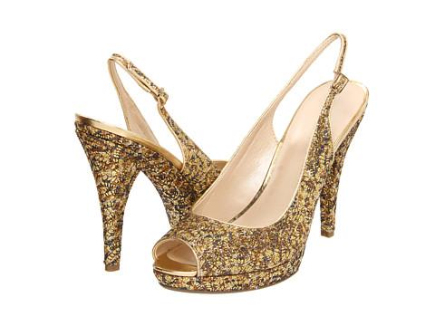 Sandale Nine West - Glameron - Gold Fabric