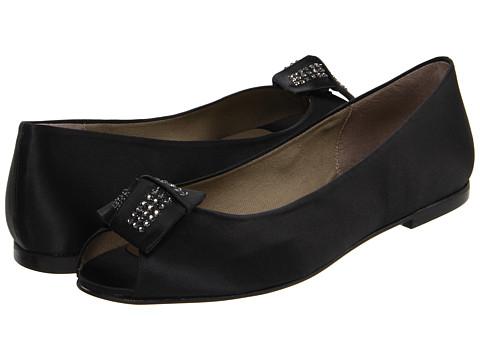 Balerini French Sole - Glitz Satin Shoe - Black